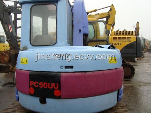 Used Komatsu PC50UU 2 Excavator For Sale From China