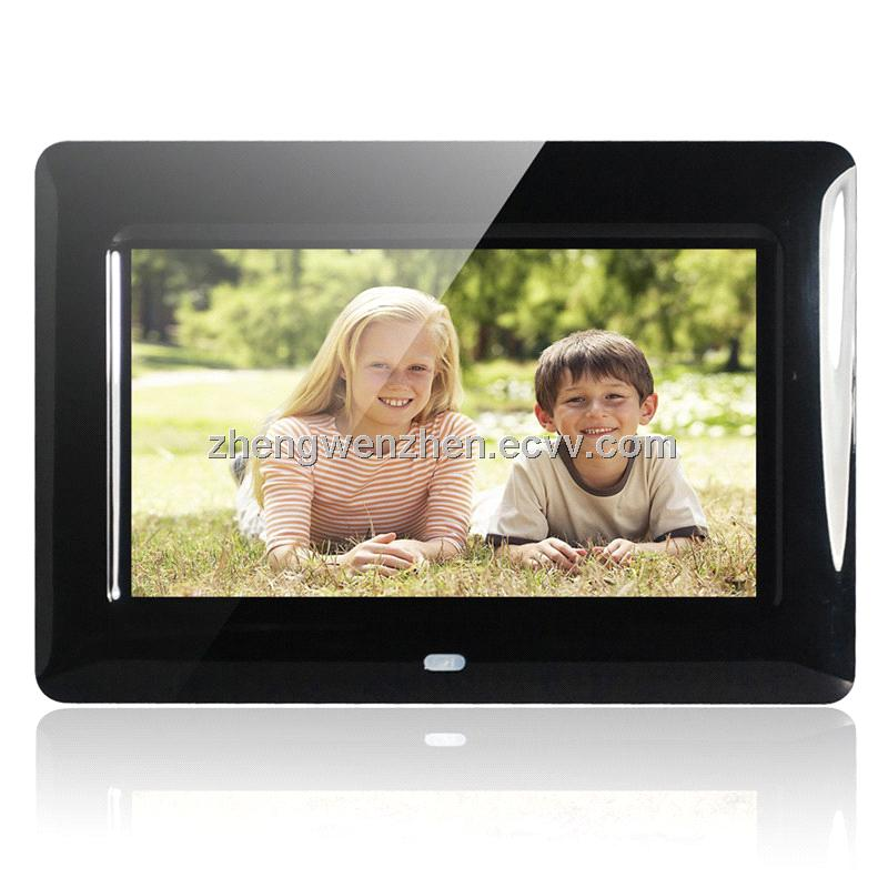 New Fashion 7 Inch Digital Picture Frame Led Display Videomusic