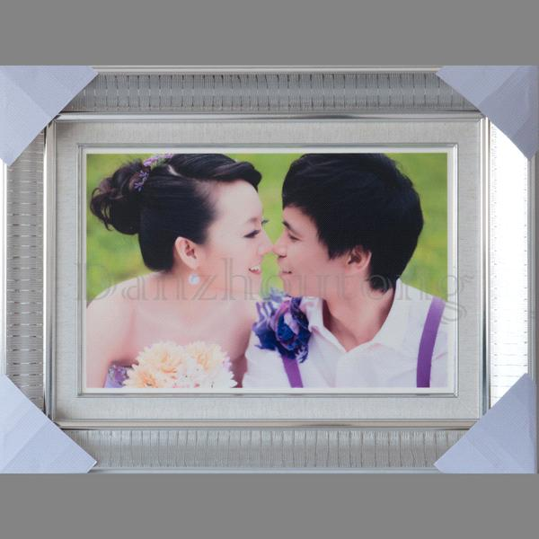 ceramic based wedding photo