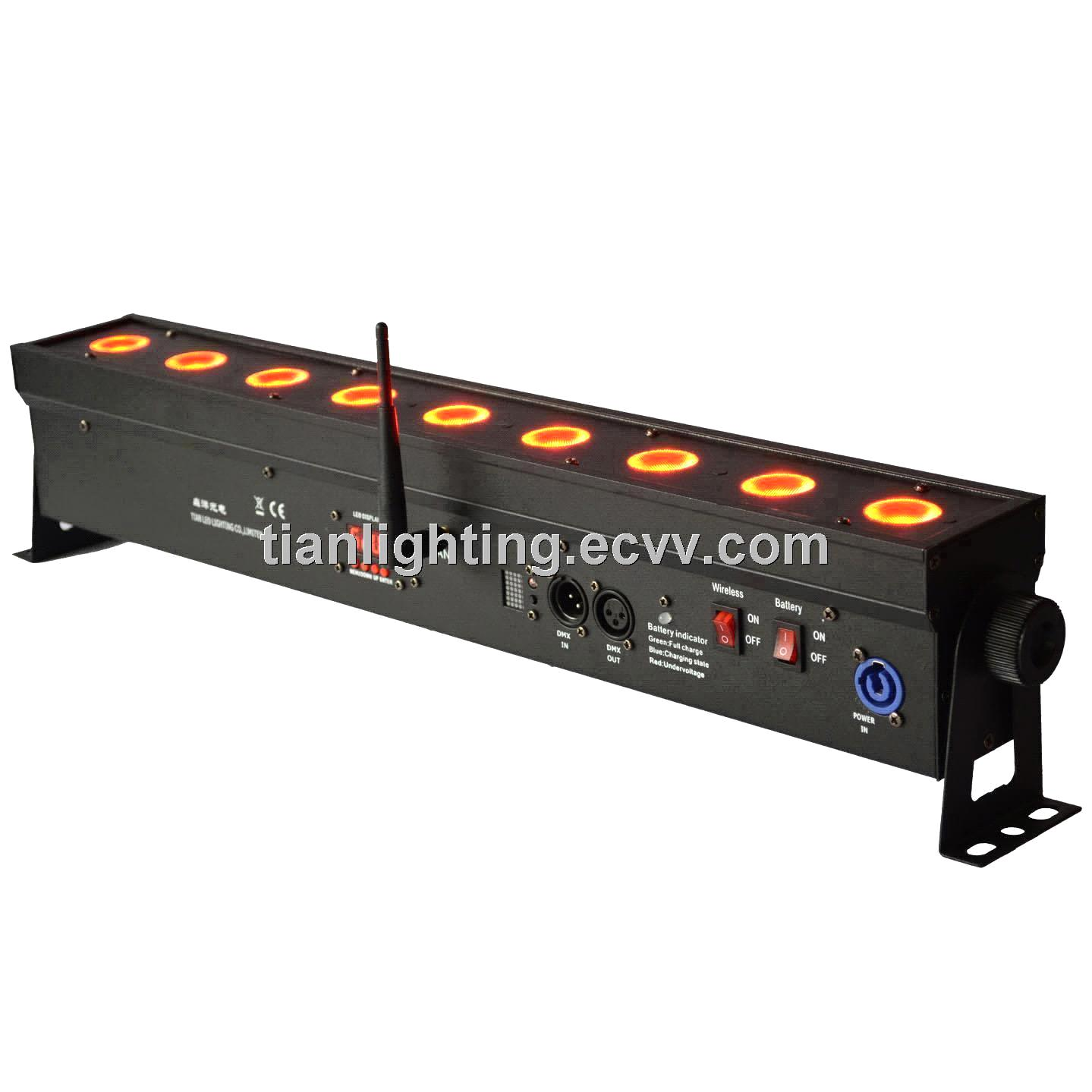 Battery Wireless Led Bar Stage Light Bar T905 Wireless