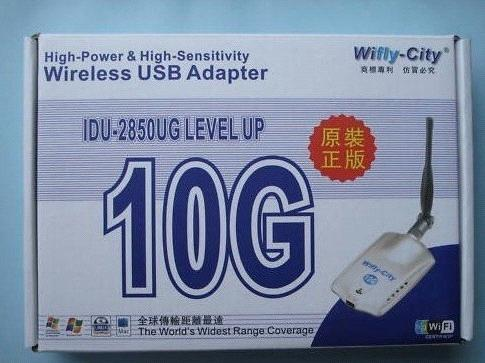 10G wireless usb wifi adapter + 5dBi antenna