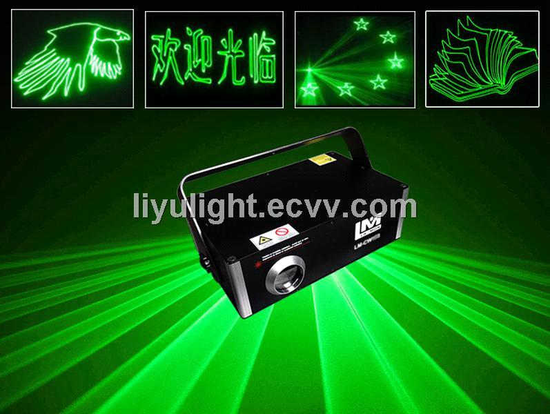 300mW Green laser light , Dj disco night club lighting Green outdoor laser light show