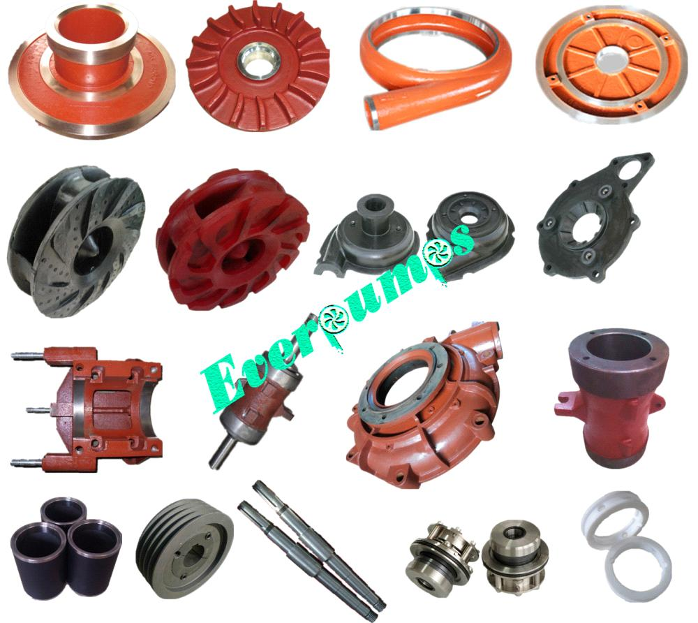 AH slurry pump spare parts wear parts