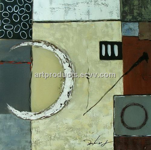 Acrylic Paint abstract canvas oil painting