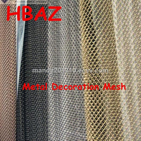 Aluminum Metal Mesh / Decorative Metal Mesh