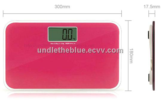 Lcd Mini Portable Travel Bathroom Scale