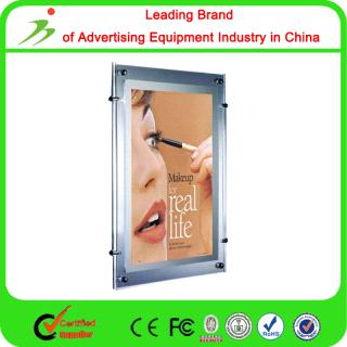 Customized Wall Mounted Slim Crystal Led Light Box