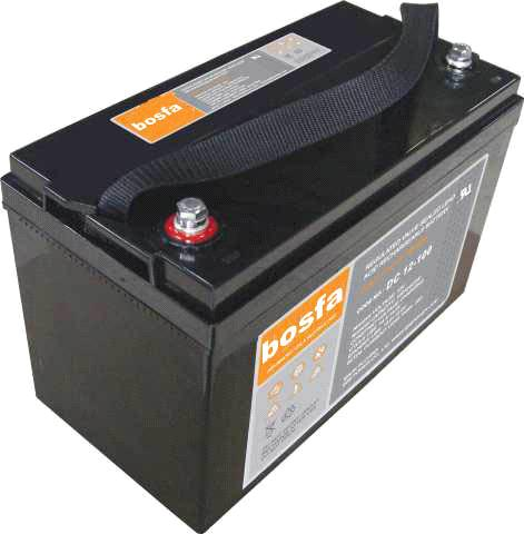 DC12-100 solar battery 12v 100ah deep cycle ups and solar battery