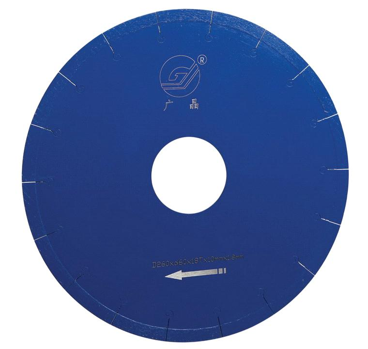 Diamond blade for ceramic cutting(Segmented, welded)