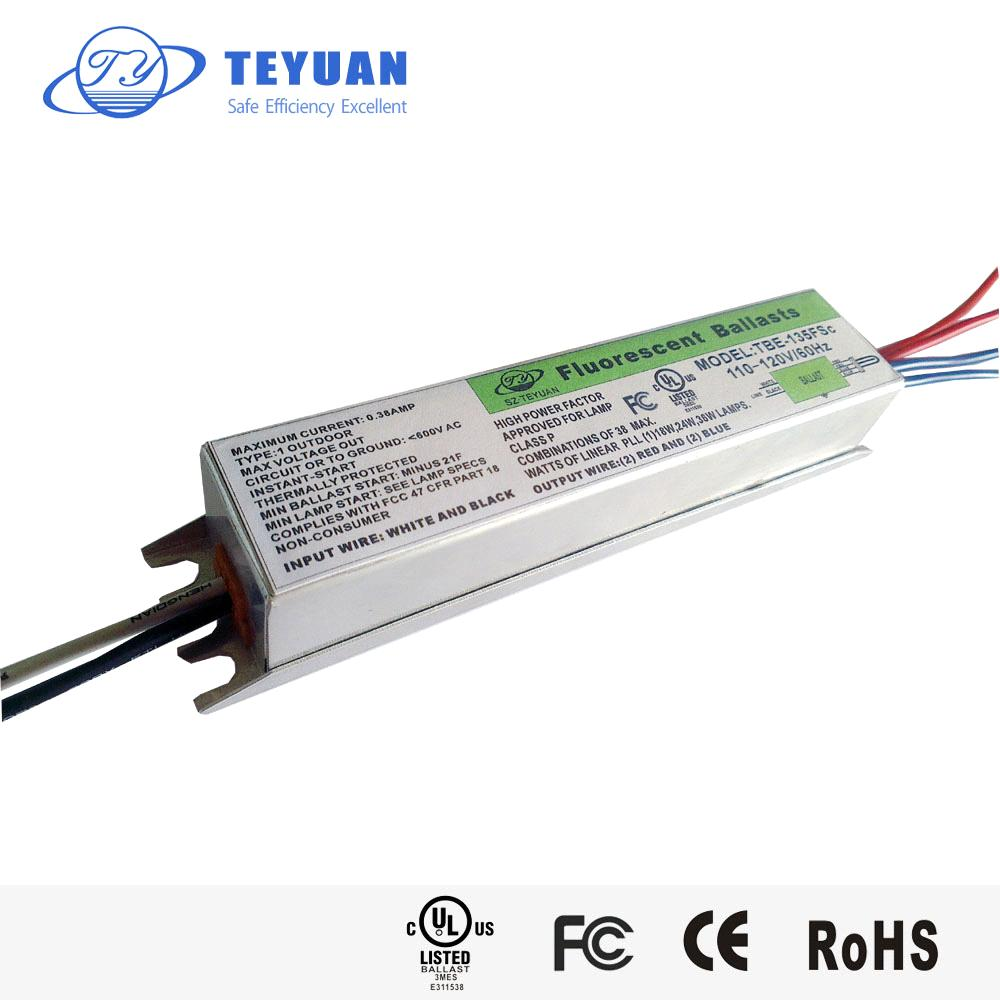 Electronic Ballast for PLL Fluorescent Lamps 18W24W36W UL CE ...