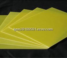 FR-4/G10 epoxy resin fiberglass sheet(Light green,yellow and black