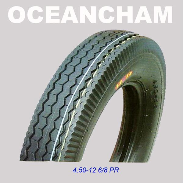 High Quality Motorcycle Tire 4.50-12 8pr