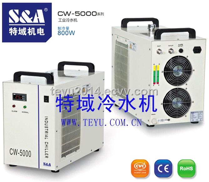 Laser water chiller for 80W Co2 Glass tube lasers