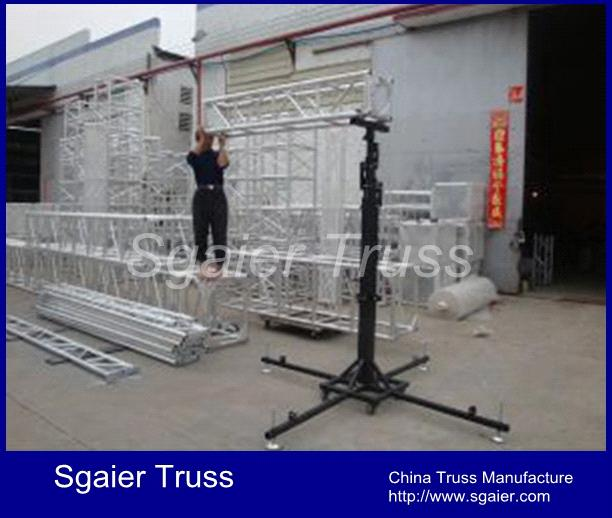 Lift Tower For Stage Lighting Crank Stand Truss And