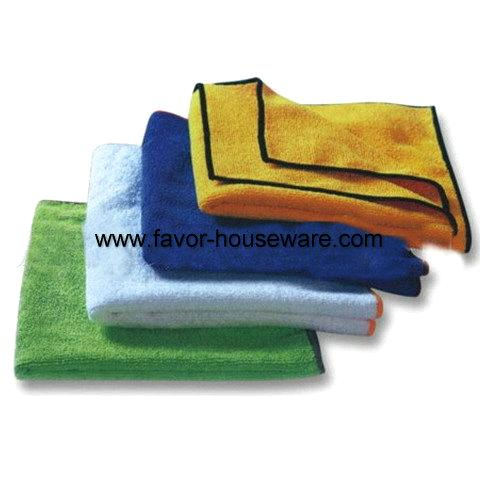 Microfiber drying bath towel