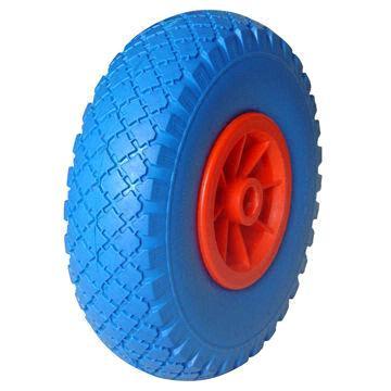 No Flat Tire Wheel in Polyurethane Foam Material