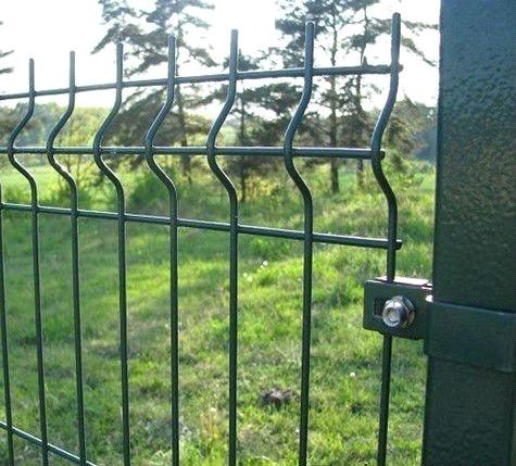 PVC-coated 3D Welded Wire Mesh Fence Panel 3D Wire Fence Panel ...