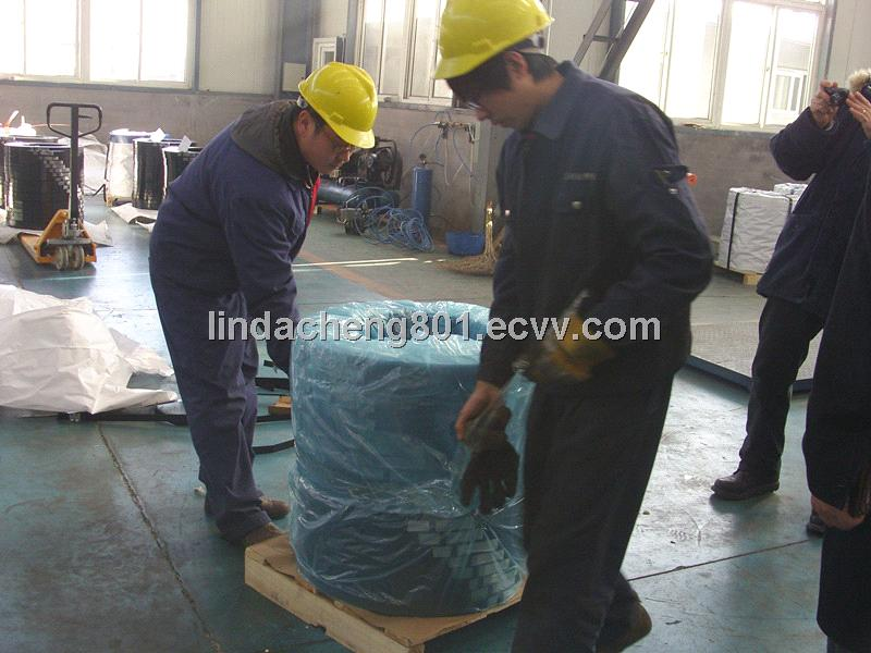 Packaging strapping mill wound