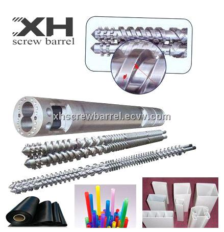 Parallel twin screw barrels for Blow Film Making Machine