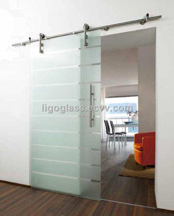 Sliding Glass Door System With Stainless Steelsliding Fittings
