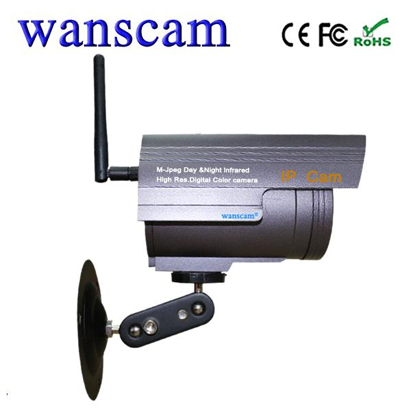 Wanscam JW0019 Outdoor Bullet IP Camera Support TF Card Recording Day Night View P2P IR Cut Outdoor