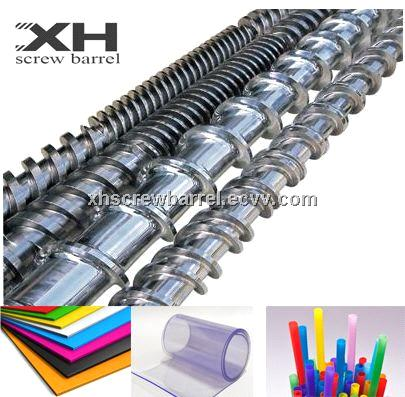 Wire and cable extruder screw barrels for Rubber Vertical Injection Molding Machine
