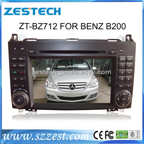 ZESTECH car dvd player with GPS Navigation for BENZ B200 stereo audio radio