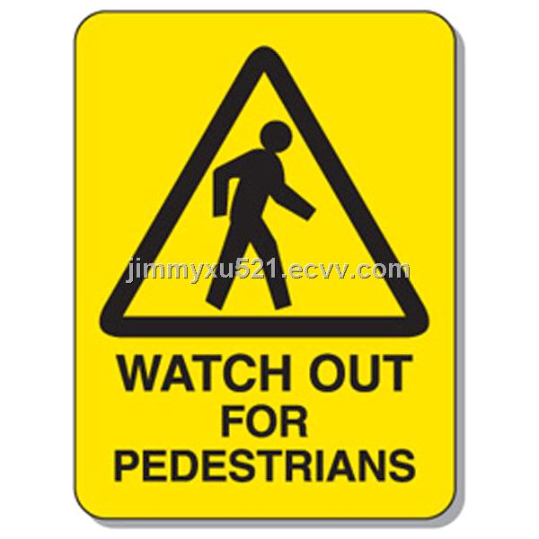 Reflective Informative Canada Traffic Road Warning Sign Board Signal