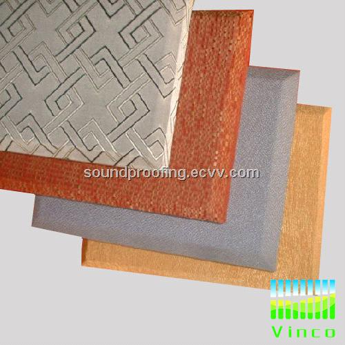 sound absorbing fabric panel