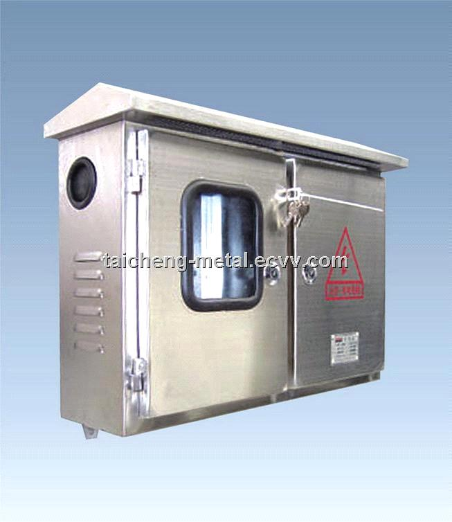 2 doors electric distribution box IP65 terminal box with stainless steel  material
