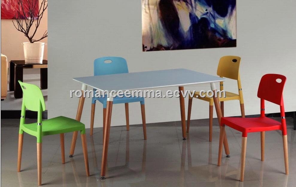Amazing Beech Wood Dining Set Plastic Chair And Table Set Modern Outdoor Furniture Frankydiablos Diy Chair Ideas Frankydiabloscom