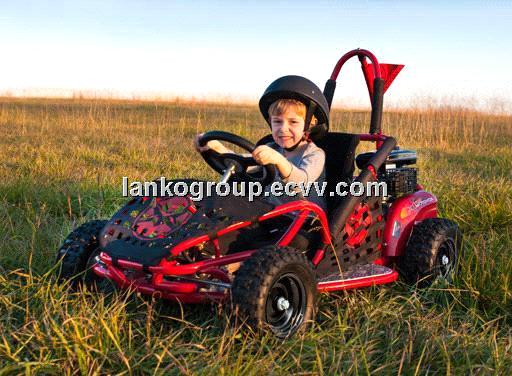 Mini Go Kart Buggy Electric Kids 80cc Or 1000w