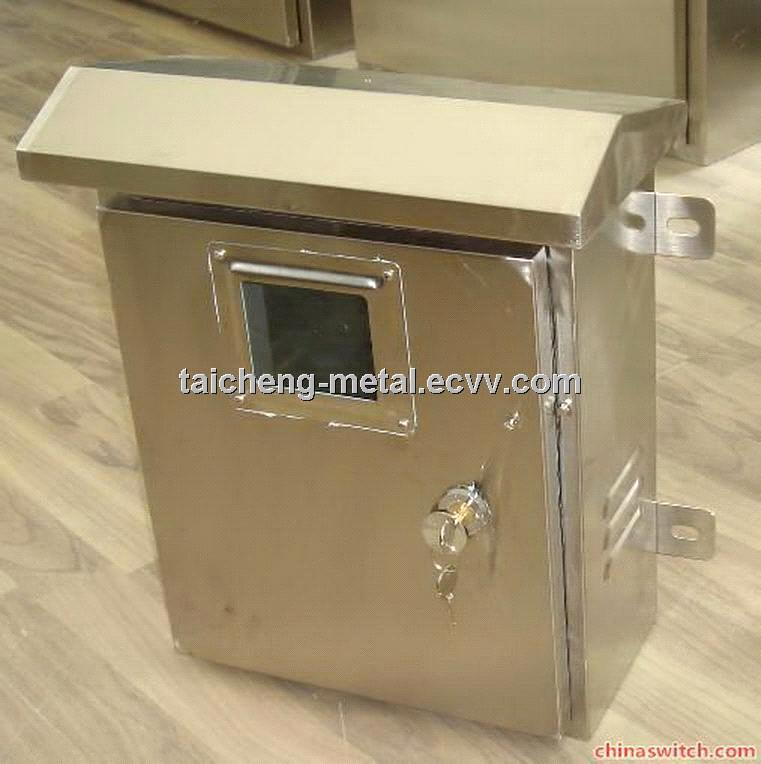 SS304 IP65 Outdoor Window Type Distribution Box For Power
