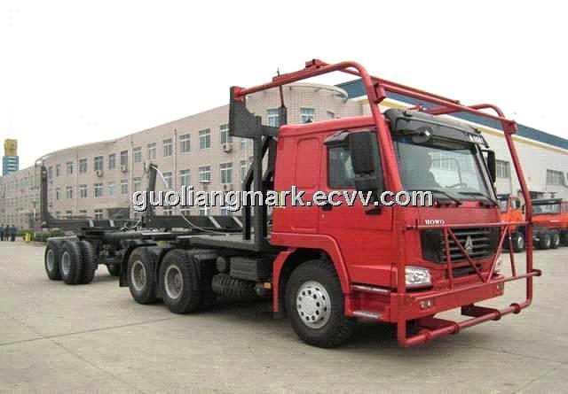 Sinotruk Howo Log Carrier Trucks For Congo - Buy Log