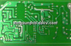 Single-sided PCB board