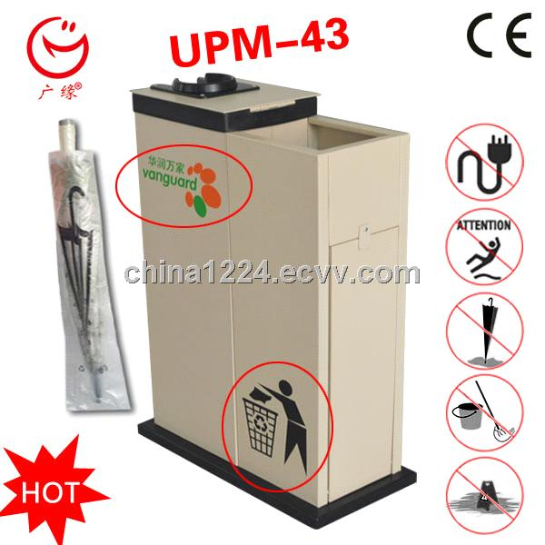 2014 new product Wet Umbrella Wrapping Machine with recycling bin