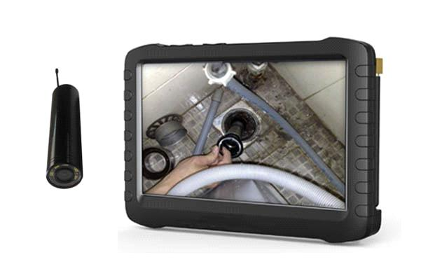 24GHz Wireless Inspection Camera With 5 Inch HD Mini DVR Pipe