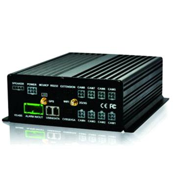 4 channel 3G HDD MDVR with gps tracking with free CMS software