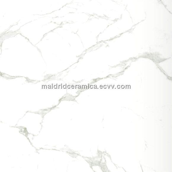 Calacatta White Marble Tile Glazed Polished Floor Tile Purchasing