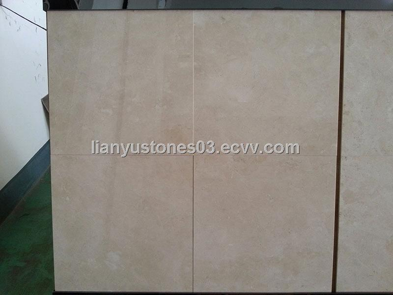 Crema Marfil Beige Marble Tile for Floor