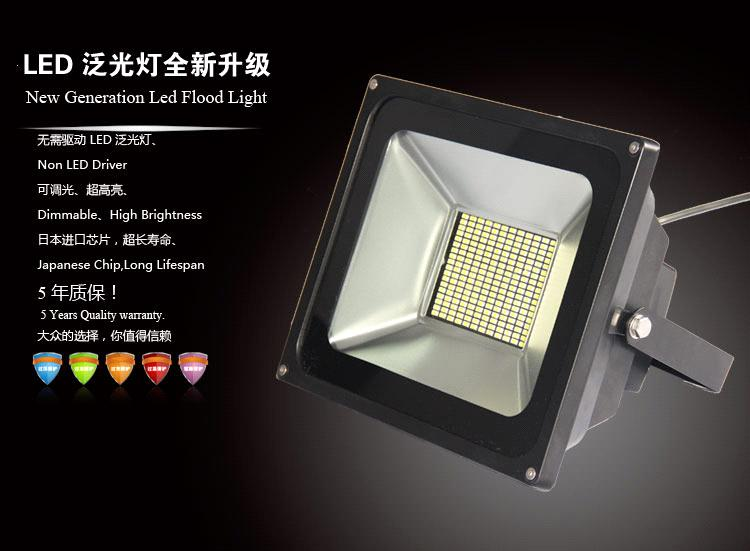 Dimmable LED Floodlight--HNS-FS150W