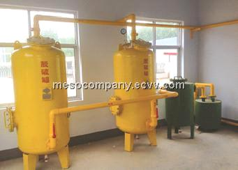 Dry desulfurization equipment