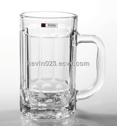 Factory directly sale 340ml hot sale function beer mug with handle