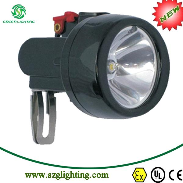 GL2.5-A cordless mining safety cap light with 2.8Ah Li-ion battery