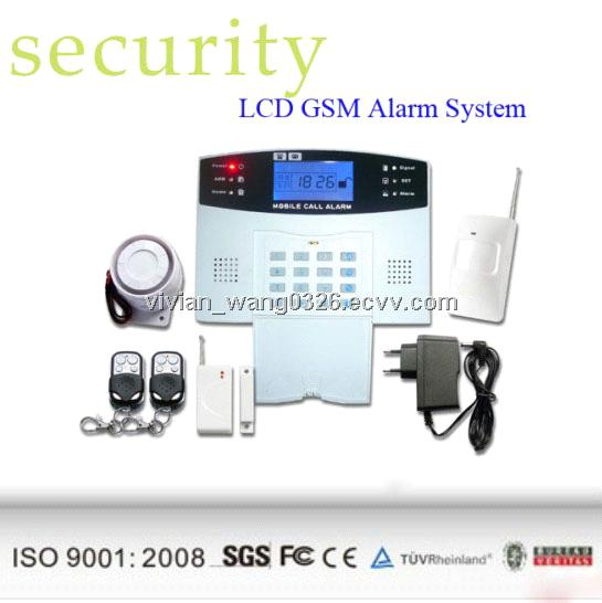Home Automation Wireless Gsm Mobile Phone Call Home Burglary Security Alarm S...