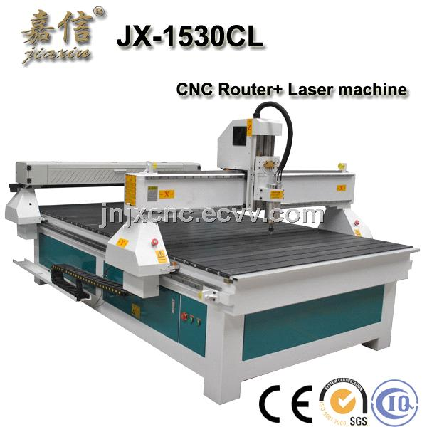 Jiaxin CNC Router and Laser Cutting Machine (JX-1325)