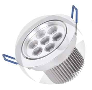 LED Downlight, Ceiling Light Fins Cooling with Various Kinds Design Spotlight