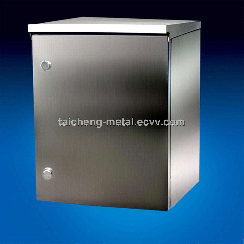 Nice Satin stainless steel IP 65 distribution box