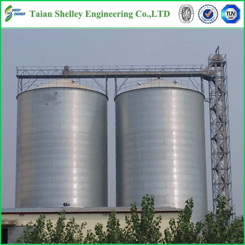 Paddy Rice Grain Storage Steel silo For sale