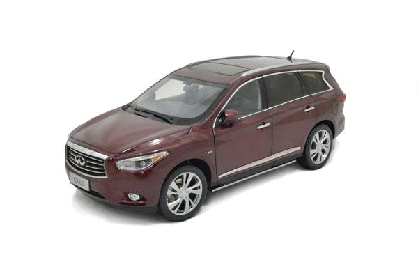 Paudi Brand New Infiniti JX35 QX60 2013 Die-cast Model 1/18 Mini Car Replica Authorization